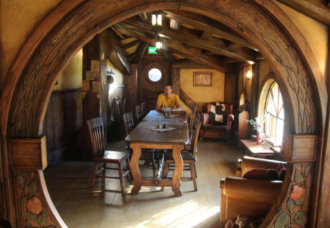 Inside Hobbit House Car Interior Design
