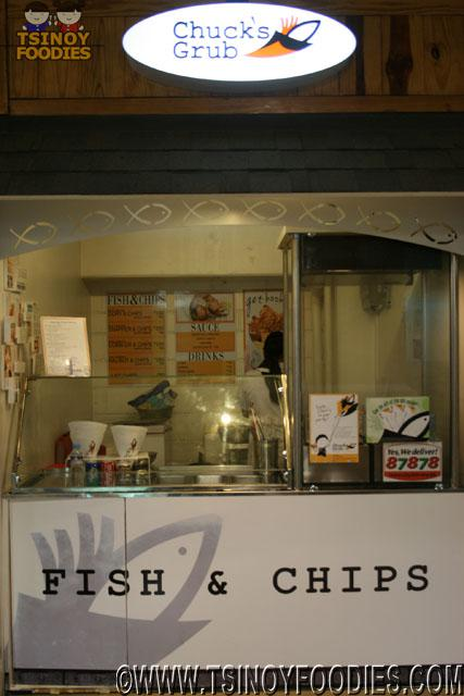 chuck's grub fish and chips