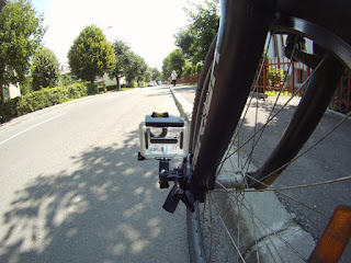 GoPro on Bike Fork