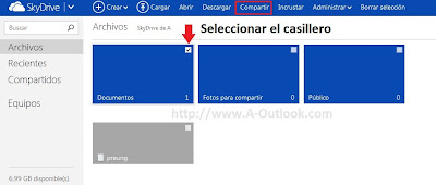 compartir fotos en outlook explicacion paso a paso