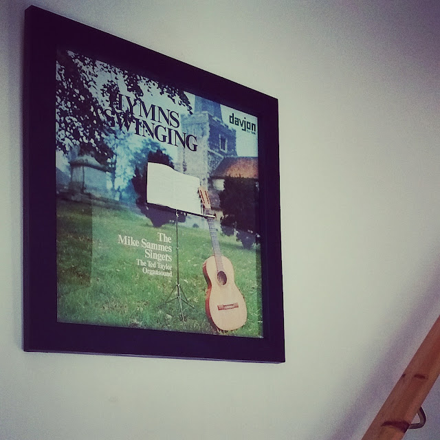 Original LP Hymns A' Swinging - Now Wall Art!