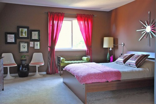 Pink And Brown Bedrooms