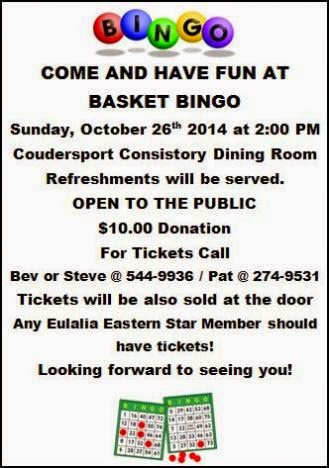 10-26 Basket Bingo at Consistory