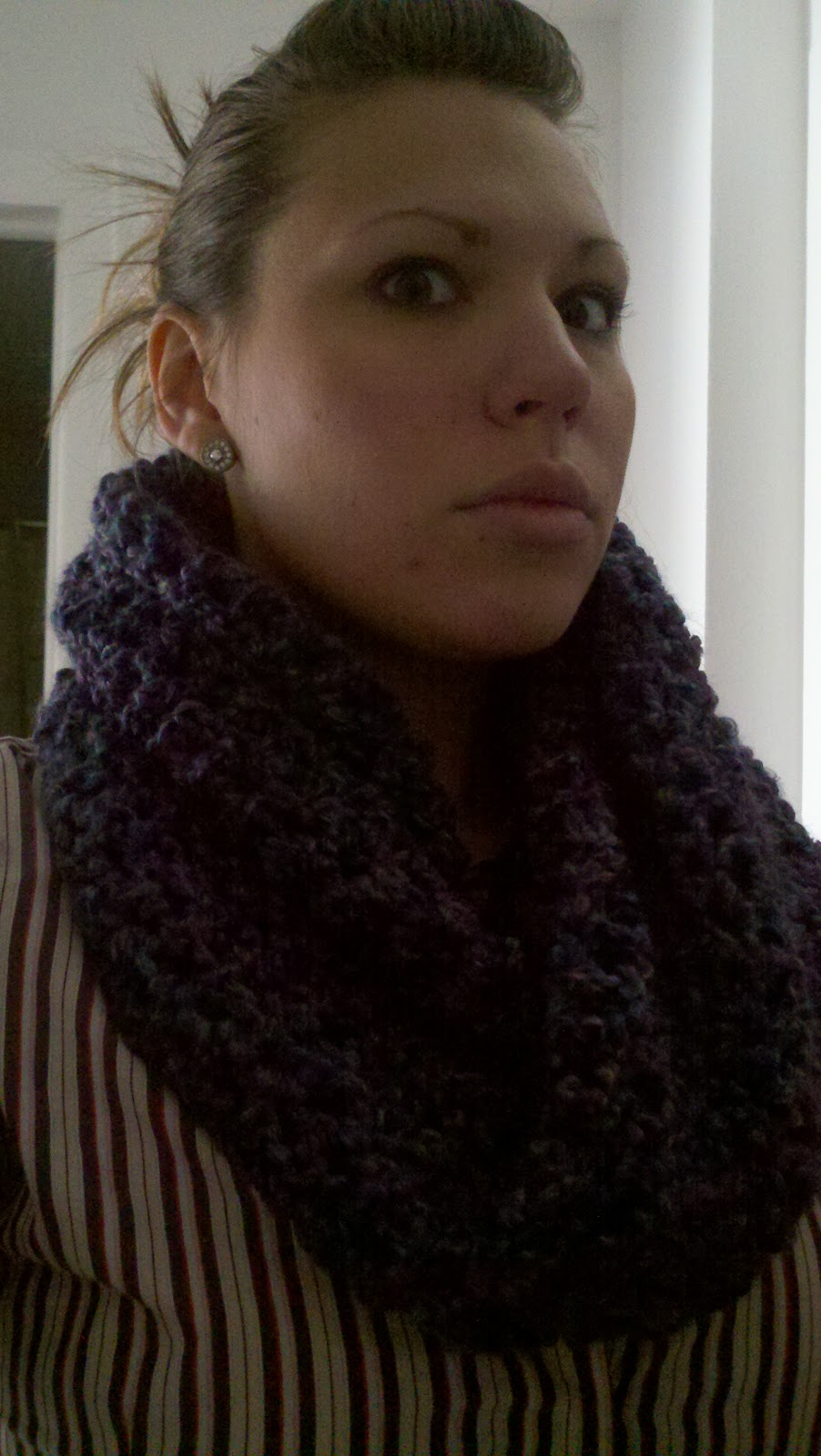 Craft Disasters and other Atrocities: Rainy Day Moebius Cowl