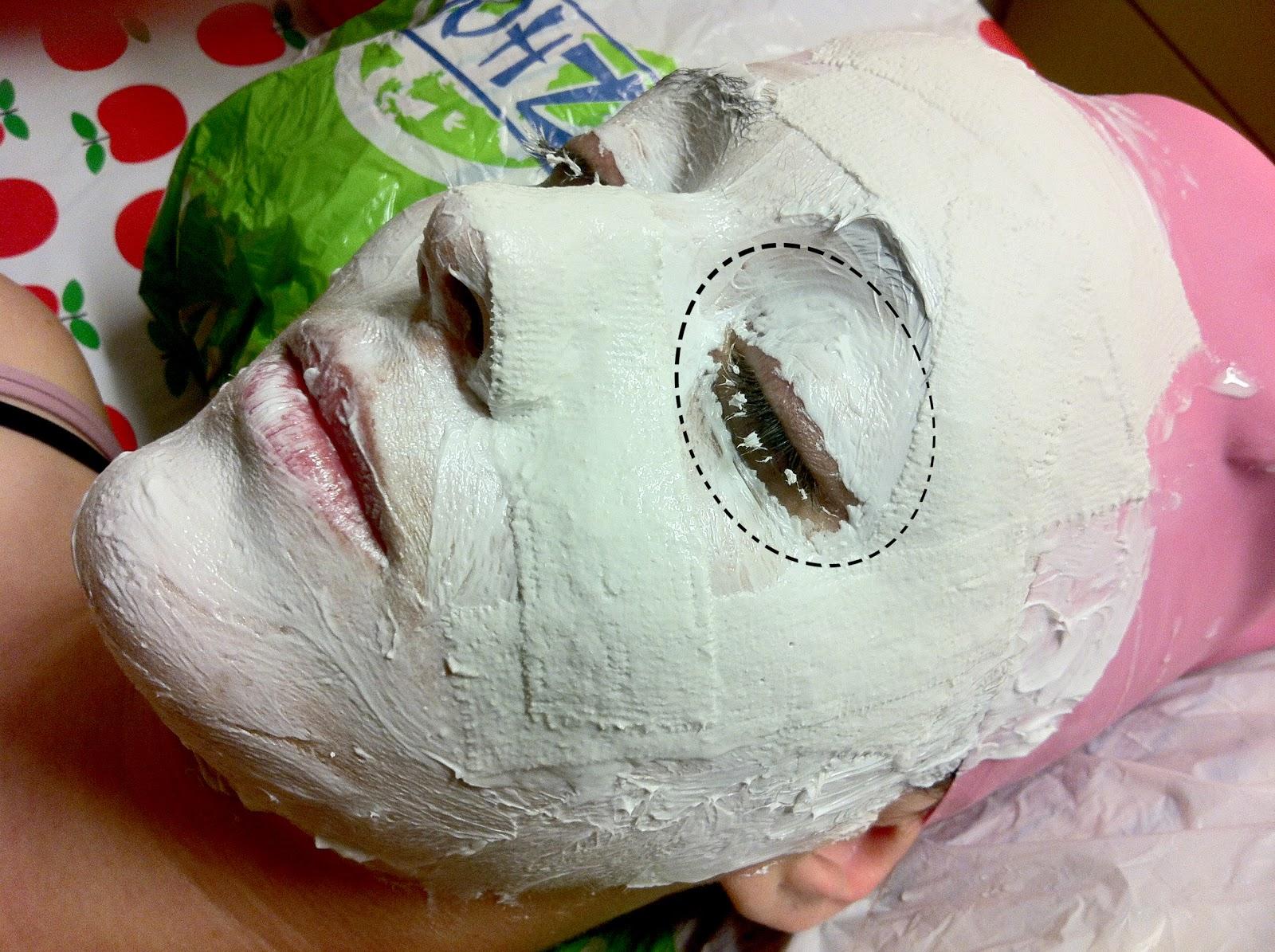 Las máscaras más simples que blanquean para la persona