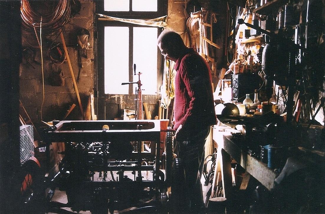 L Atelier Claude Peynaud 1900 Vis 224 Vis De Dion Bouton