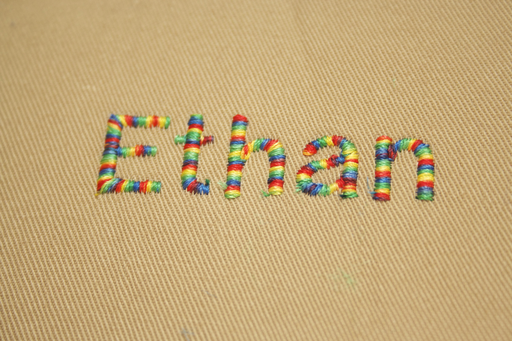 Sew Can Do Crafty Gear 40 Learning To Machine Embroider Unique How To Embroider Letters With Sewing Machine