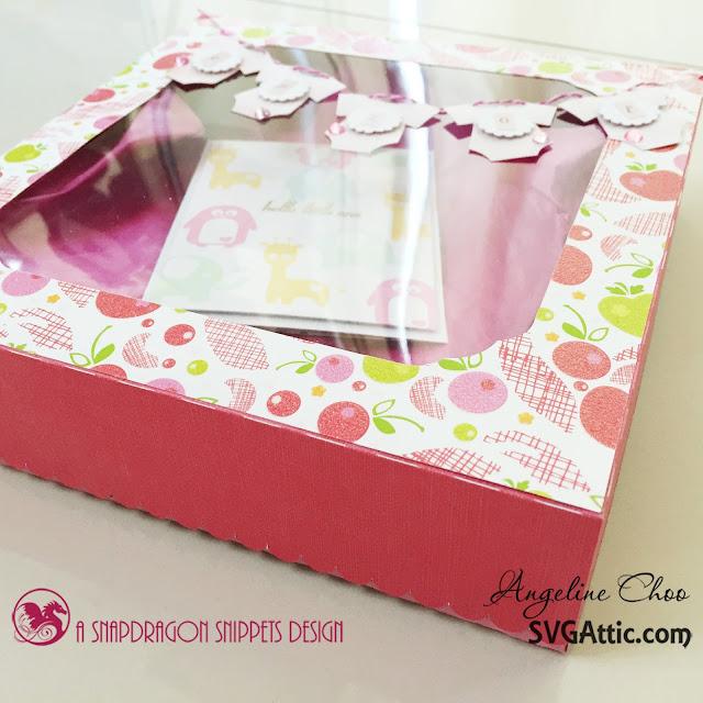 ScrappyScrappy: Baby onesies gift box #svgattic #scrappyscrappy #giftbox #baby #onesie