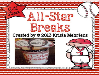 http://www.teacherspayteachers.com/Product/All-Star-Breaks-Baseball-Themed-Activities-to-get-your-students-moving-771551