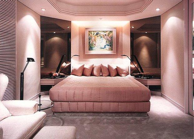 Dormitorio matrimonial rosa malva o palo de rosa via www for Recamaras rosas