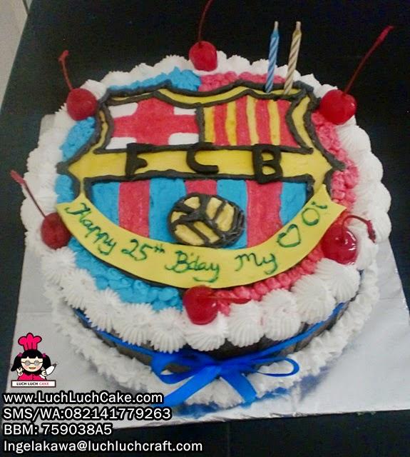 Kue Tart Ulang Tahun Barcelona