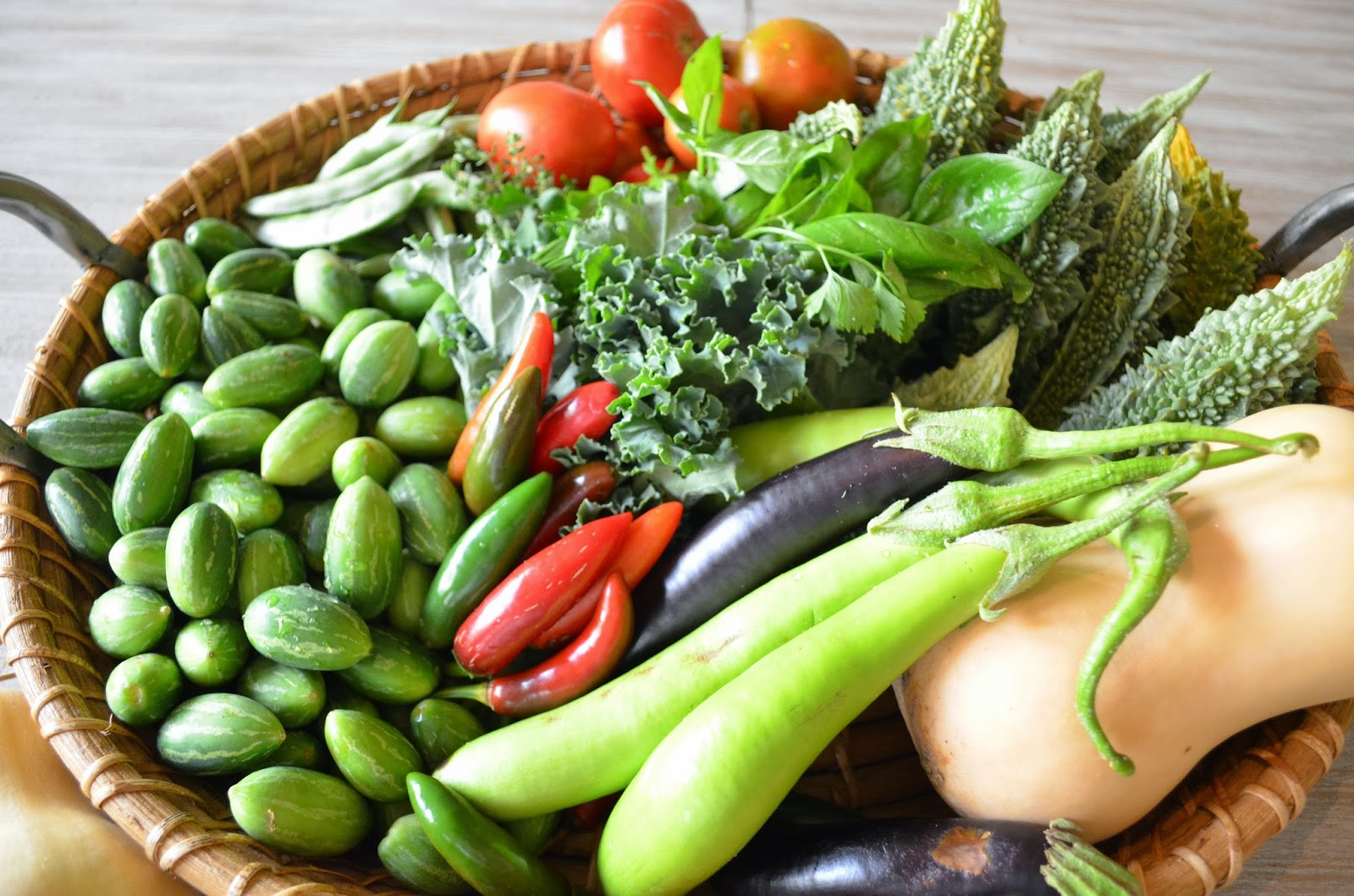 Kitchen Garden Vegetables Entertaining From An Ethnic Indian Kitchen Garden Journal