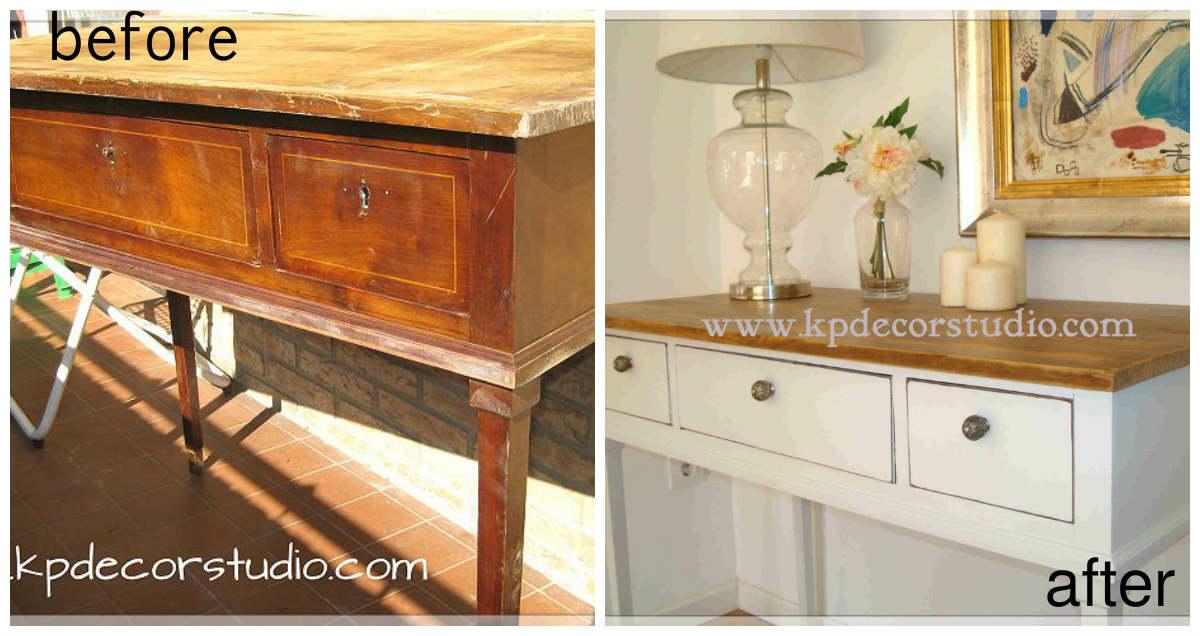 Renovar muebles antiguos muebles renovados with renovar - Venta de muebles antiguos para restaurar ...