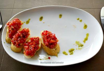 Lafayette: Mini Bruschettas de Tomate