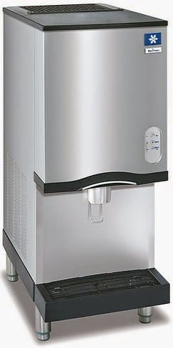 Commercial Countertop Ice Maker for Restaurant Menus Quick Cold Drink