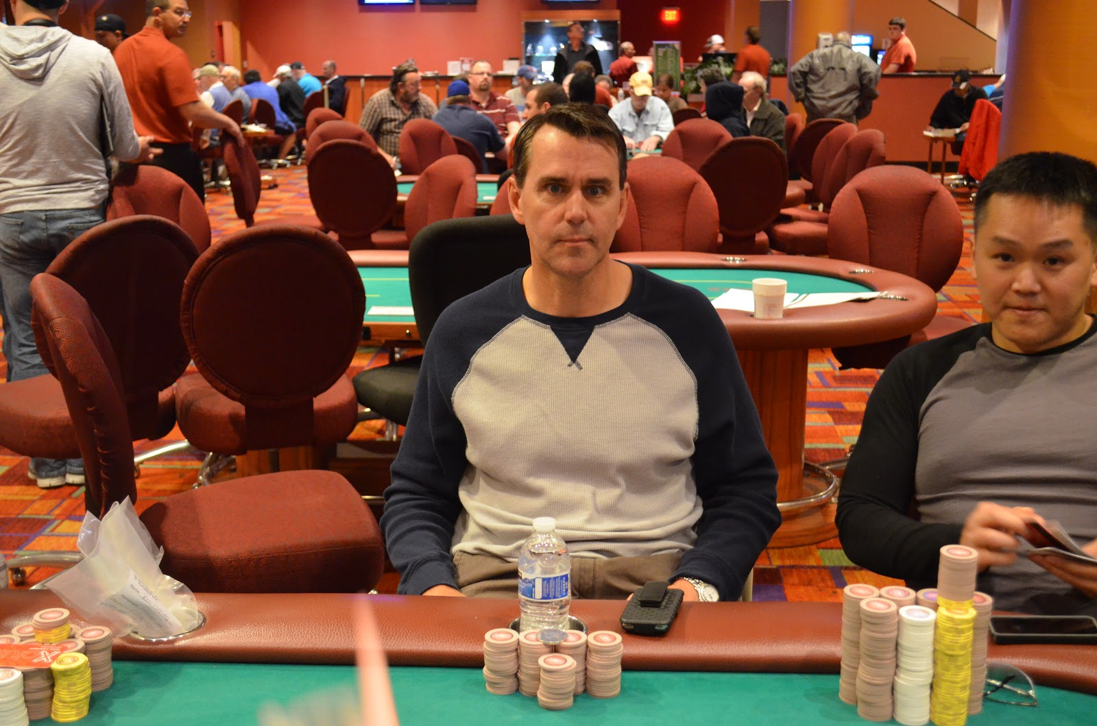 Parxbigstaxii big stax 300 day 3 7th place bressler 6 436 for Parx poker room live game report