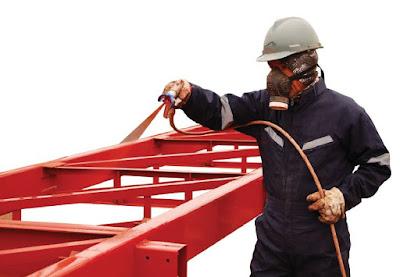Protección de estructuras metálicas con pintura