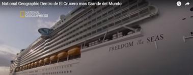 El crucero más grande del mundo (Vídeo)