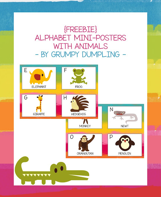 https://www.teacherspayteachers.com/Product/FREEBIE-Alphabet-Mini-Posters-With-Animals-1915988