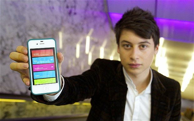 Nick D'Aloisio with Summly