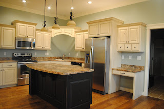 Knotty Alder Custom Designed Cabinets Stainless Steel Appliances