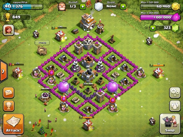 Good Th7 Home Base Design Part - 10: Town Hall 7