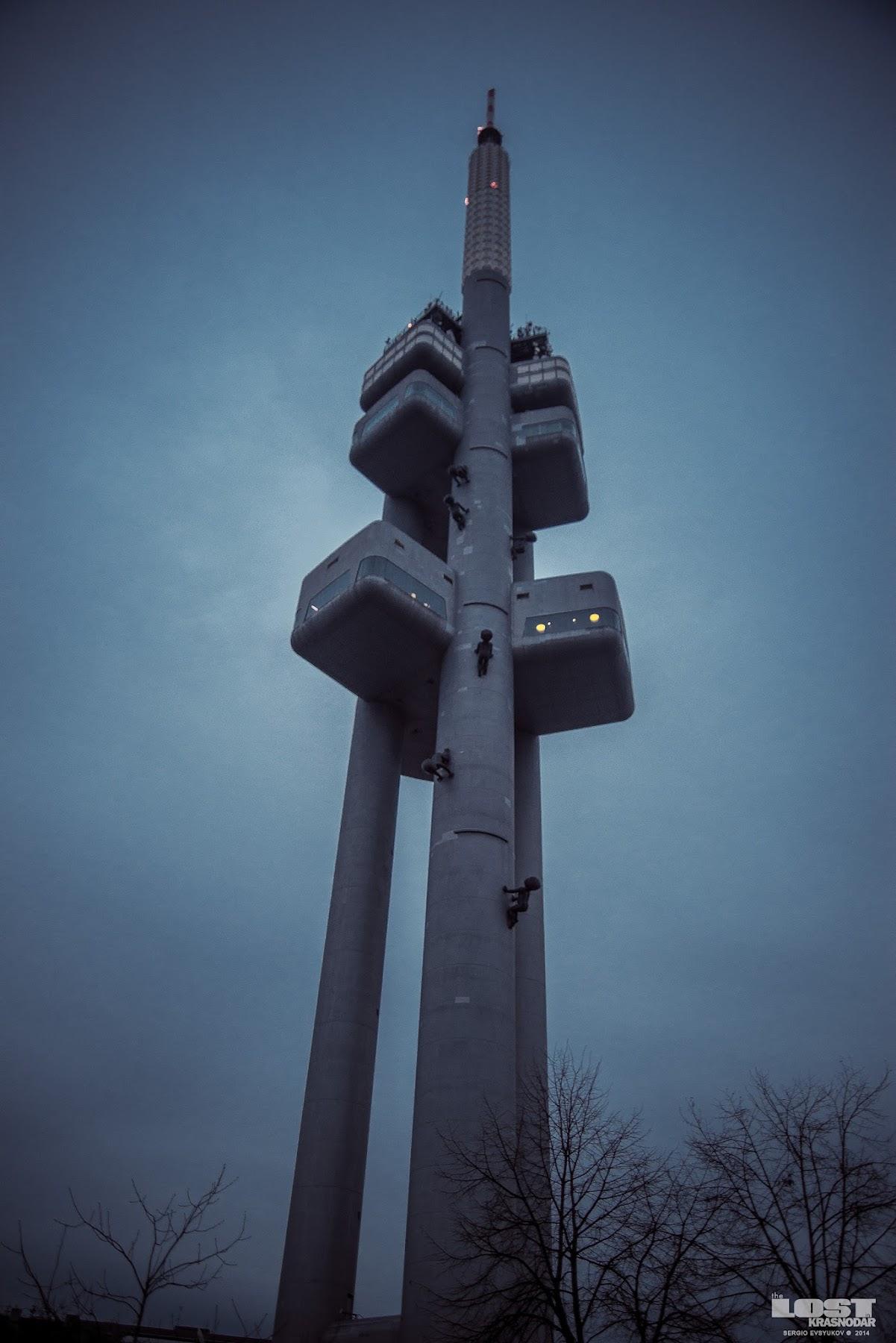 Башня в Праге