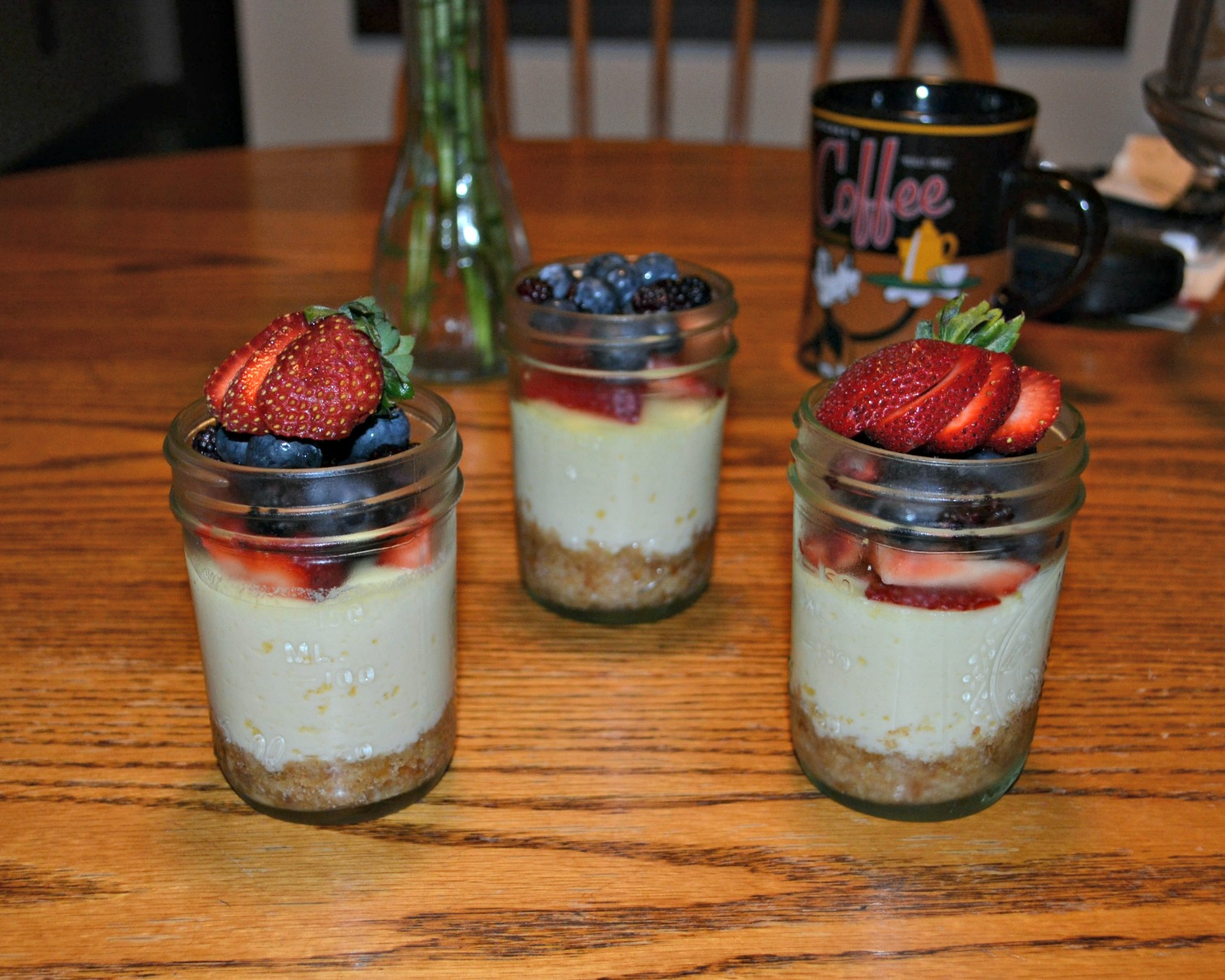 CSA Wednesdays: Cheesecake in a Jar and Grilled Zucchini and Squash ...