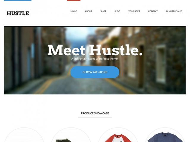 WooThemes - Hustle Responsive WordPress Theme v1.1.10