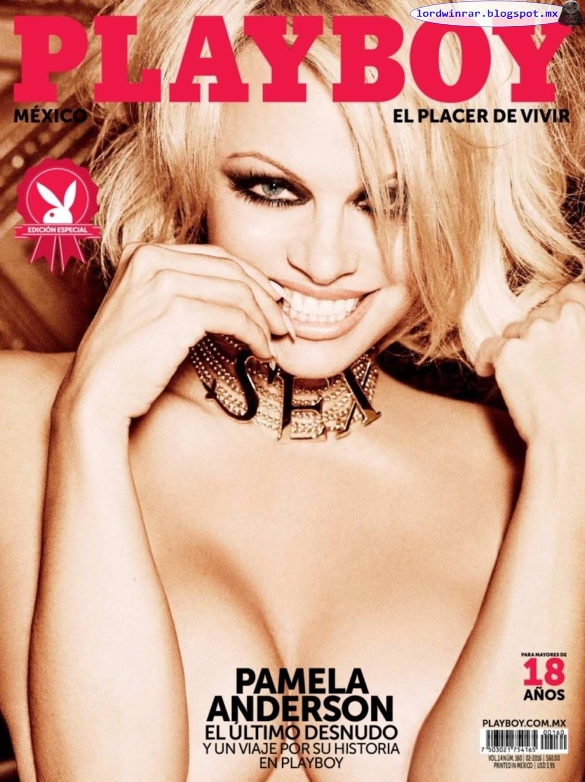 Pamela Anderson - Playboy Mexico 2016 Febrero