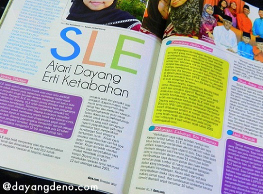 DayangDeno Di Dalam Majalah Dara.com