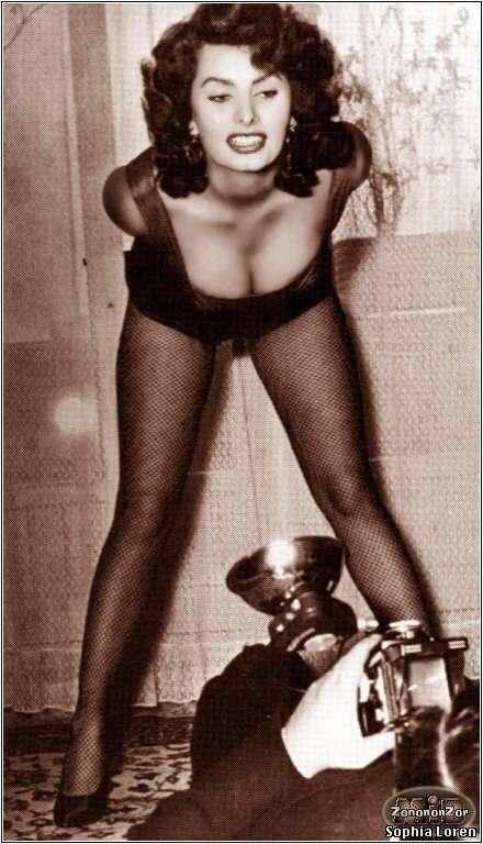 софи лорен голая в молодости фото