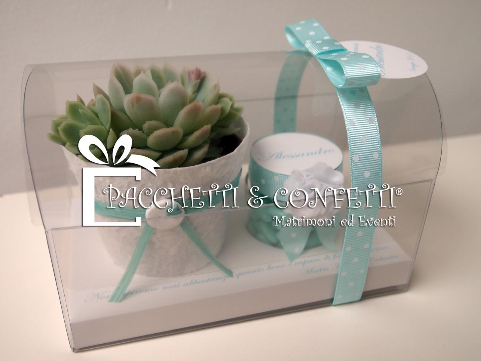 Molto Pacchetti e Confetti: Bomboniere color Tiffany ZL69
