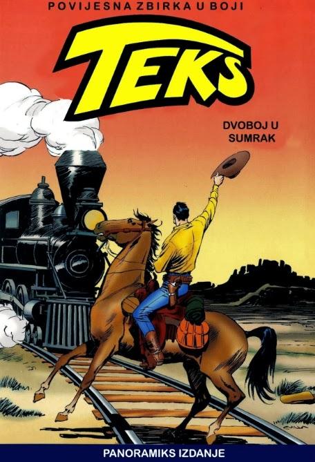 Teks Viler Dvoboj+u+sumrak+-+Tex+u+boji