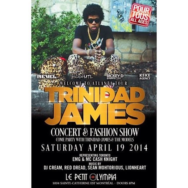Trinidad James April 19th