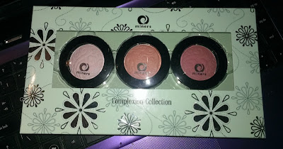 Miners Complexion Collection boxed