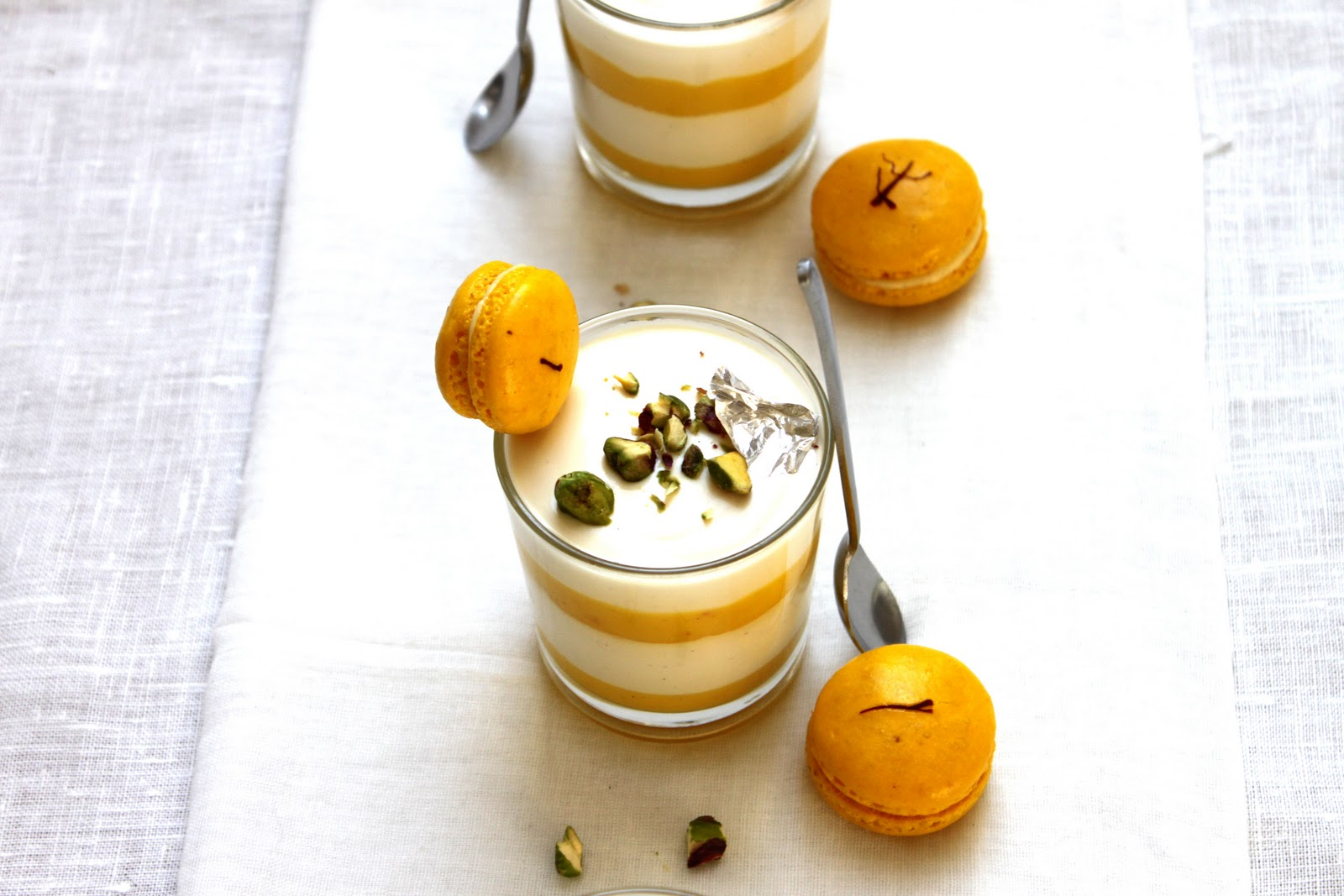 SoulCurry: Limoncello Panna Cotta with Saffron-Lemon Curd & Florentine ...
