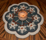 Frosty Pops Candle Mat