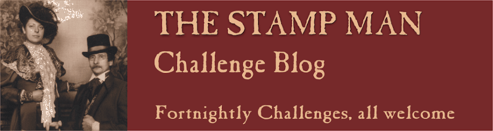 The Stamp Man Challenge Blog