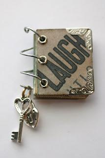 1 Inch Book Pendant