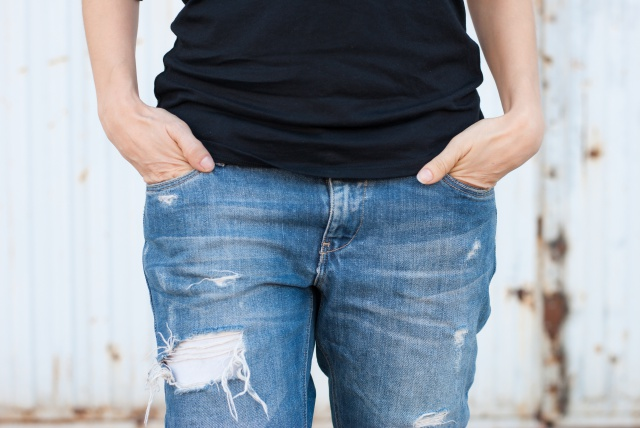 Boyfriend Jeans Look