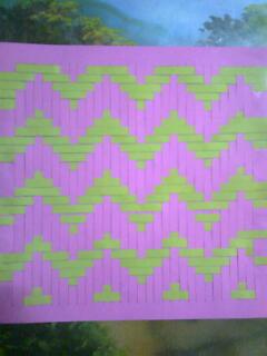 motif mata walik kolase dari kain flanel kolase dari kain flanel