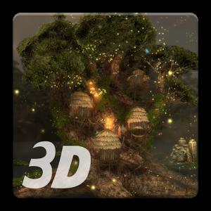 Magic Tree 3D Live Wallpaper by NpSoft