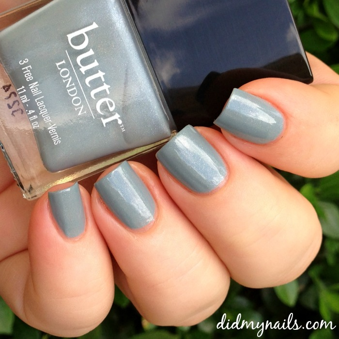 butter london lady muck swatch