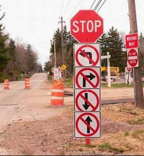 smešni saobraćajni znakovi