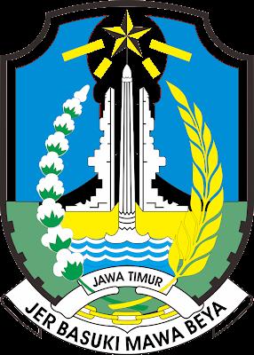 logo provinsi jawa timur kumpulan logo indonesia