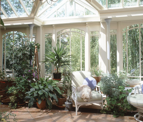 Hydrangea hill cottage conservatory living for Victorian sunroom