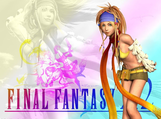 final fantasy 10-2 square enix jrpg rpg japanese role playing game