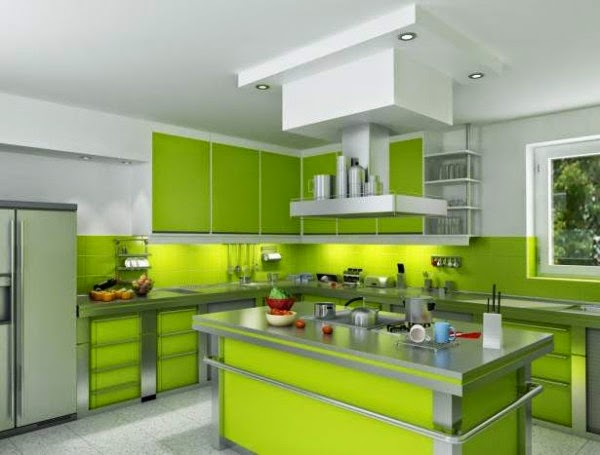 Warna Cat Dapur elegan