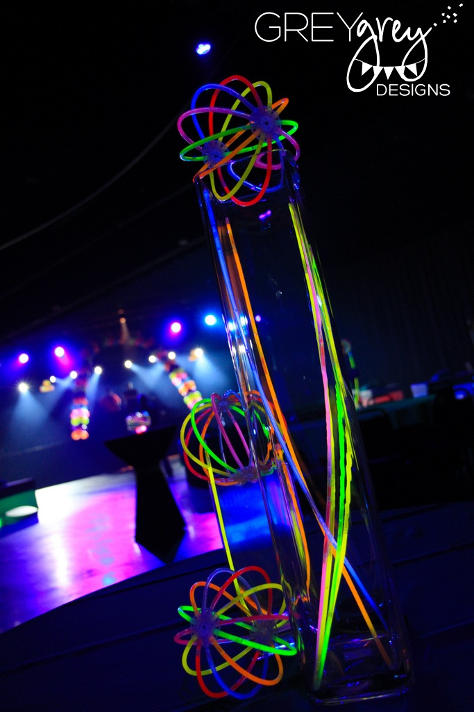 greygrey designs my parties ryan 39 s glow in the dark